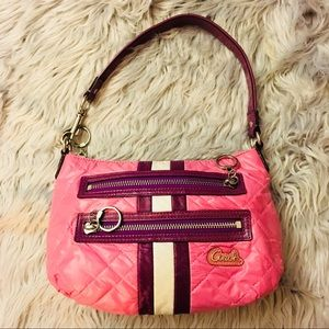 Coach Poppy Quilted Handbag